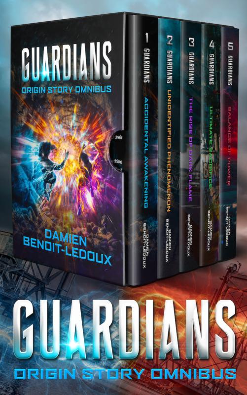The Guardians Origin Story Omnibus